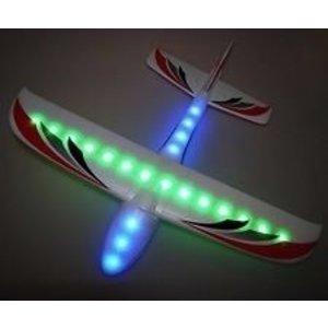 FireFox Toys . FFT LIGHTNING GLIDER W/LIGHTS