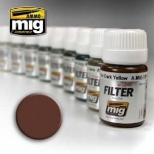 Ammo of MIG . MGA Filter: Brown For White