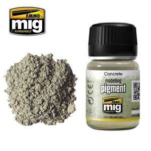 Ammo of MIG . MGA CONCRETE PIGMENT