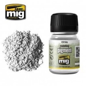 Ammo of MIG . MGA WHITE PIGMENT