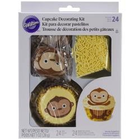 Wilton Products . WIL Cupcake Decorating Kit - Monkey Theme