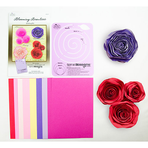 Quilled Creations . QUI Blooming Beauties Quilling Kit