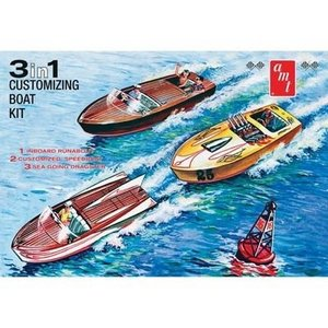 AMT\ERTL\Racing Champions.AMT 1/25 3 in 1 Customizing Boat