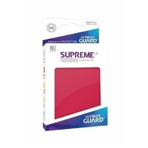 Ultimate Guard . UGD Sleeves: Supreme UX Standard Matte Red(80)