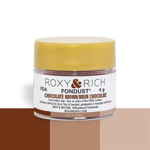 Roxy & Rich . ROX Roxy & Rich - Fondust - Chocolate Brown 4g