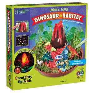 Creativity for kids . CFK GROW n' GLOW Dinosaur Habitat