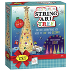 Creativity for kids . CFK Color-Changing String Art Tree