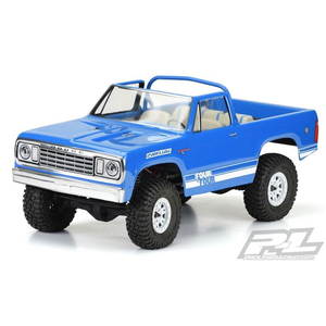 """Pro Line Racing . PRO 1977 Dodge Ramcharger Clear Body for 12.3"""" (313mm)"""