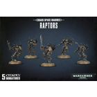 Games Workshop . GWK Warhammer 40K: Chaos Space Marine Raptors