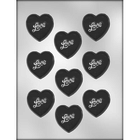 "CK Products . CKP 2"" Heart With Love Chocolate Mold"