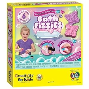Creativity for kids . CFK Butterfly Surprise Bath Fizzies