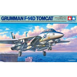 Tamiya America Inc. . TAM 1/48 F-14D Tomcat