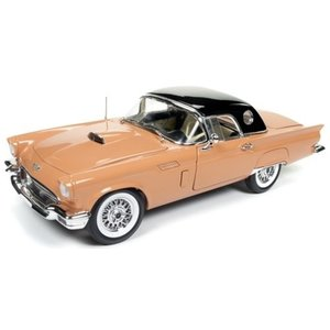 American Muscle Diecast . AMD 1/18 1957 Ford Thunderbird Convertible (60th Anniversary)