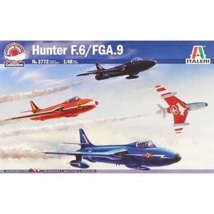 Italeri . ITA 1/48 Hawker Hunter F Mk. 6/9