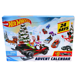 Hotwheels . HTW Hot Wheels Advent Calendar