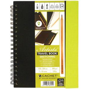"Darice . DAR Cachet Travel Sketch Book W/Pencil 7"" X 10"""