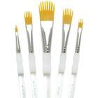 Royal Brush . RBM Aqualon Filbert Wisp Brush Set 5pcs