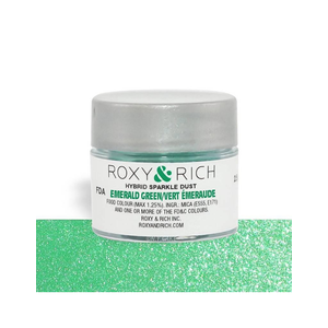 Roxy & Rich . ROX Roxy & Rich Hybrid Sparkle Dust - Emerald Green