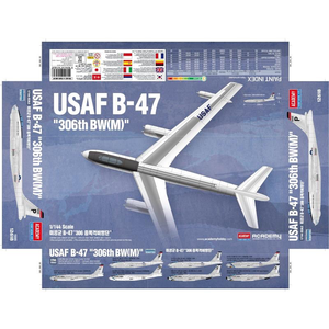 Academy Models . ACY 1/144 USAF B-47