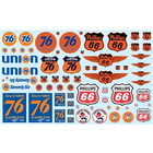 AMT\ERTL\Racing Champions.AMT 1/25 Phillips 66 Union 76 Decals