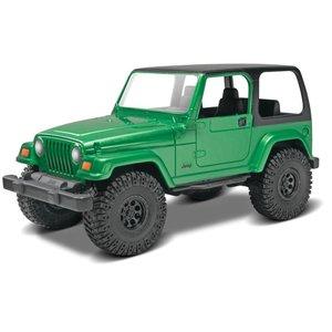 Revell Monogram . RMX 1/25 Jeep® Wrangler Rubicon Model Kit