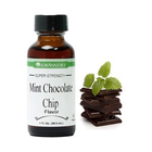 Lorann Gourmet . LAO Mint Chocolate Chip Flavor 4 oz
