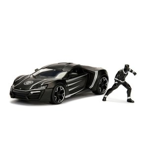 Jada Toys . JAD 1/24 Hollywood Rides - Lykan HyperSport w/Black Panther