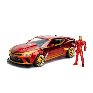 Jada Toys . JAD 1/24 Hollywood Rides - 2016 Chevy Camaro SS w/ Ironman