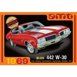 AMT\ERTL\Racing Champions.AMT 1/25 1969 Olds 442 W-30