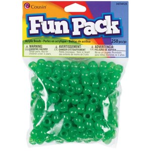 Cousins Corporation . CCA Green Cousin Pony Beads