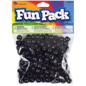 Cousins Corporation . CCA Black Cousin Pony Beads