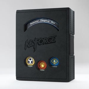 Gamegenic . GGS Keyforge Deck Book: Black