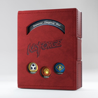 Gamegenic . GGS Keyforge Deck Book: Red
