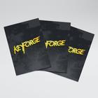 Gamegenic . GGS Sleeves: Keyforge Logo Matte Black (40)