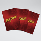 Gamegenic . GGS Sleeves: Keyforge Logo Matte Red (40)