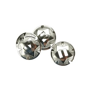 Tandy Leather Factory . TLF Nickle Conchos 1-1/4""