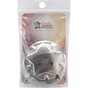"""Tandy Leather Factory . TLF Nickle Finish Conchos 1-1/2"""""""