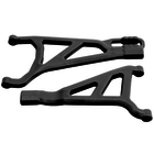 RPM . RPM Front Right A-Arms, for Traxxas E-Revo 2.0 Brushless Truck, Black