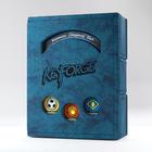 Gamegenic . GGS Keyforge Deck Book: Blue