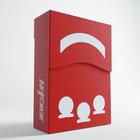 Gamegenic . GGS Deck Box: Keyforge Aries: Red