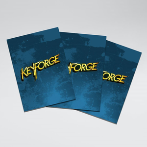 Gamegenic . GGS Sleeves: Keyforge Logo Matte Blue (40)