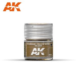 A K Interactive . AKI Gelbbraun Yellow Brown RAL8000 10ml