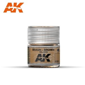 A K Interactive . AKI Braun Brown RAL8020 10ml