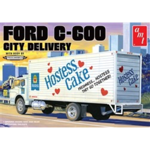 AMT\ERTL\Racing Champions.AMT (DISC) - 1/25 Ford C-600 City Delivery