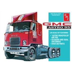 AMT\ERTL\Racing Champions.AMT 1/25 95 GMC Astro Semi Tractor
