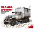 Miniart . MNA 1/35 GAZ-AAA With Shelter