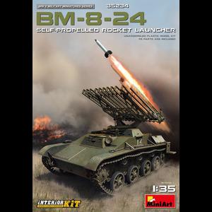 Miniart . MNA 1/35 BM-8-24 Self-Propelled Rocket Launcher