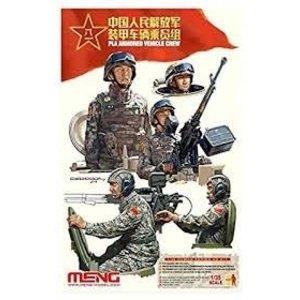 Meng . MEG 1/35 Pla Armored Vehicle Crew