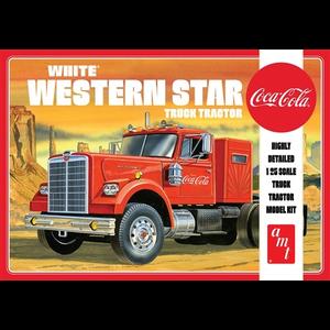 AMT\ERTL\Racing Champions.AMT 1/25 White Western Star Semi Coca Cola