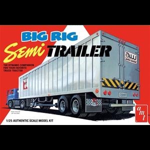 AMT\ERTL\Racing Champions.AMT AMT Big Rig Semi Trailer 1:25 Scale Model Kit